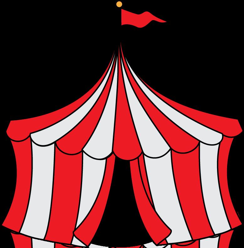 carnival clip art | Circus Party Invitation