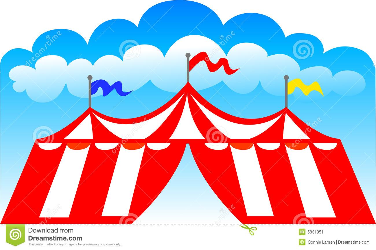 Circus Fair Carnival Tent/eps
