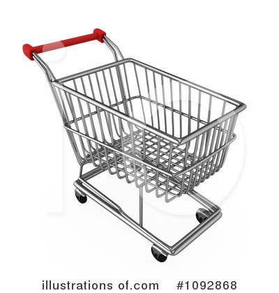 Royalty-Free (RF) Shopping Cart Clipart Illustration #1092868 by BNP Design  Studio