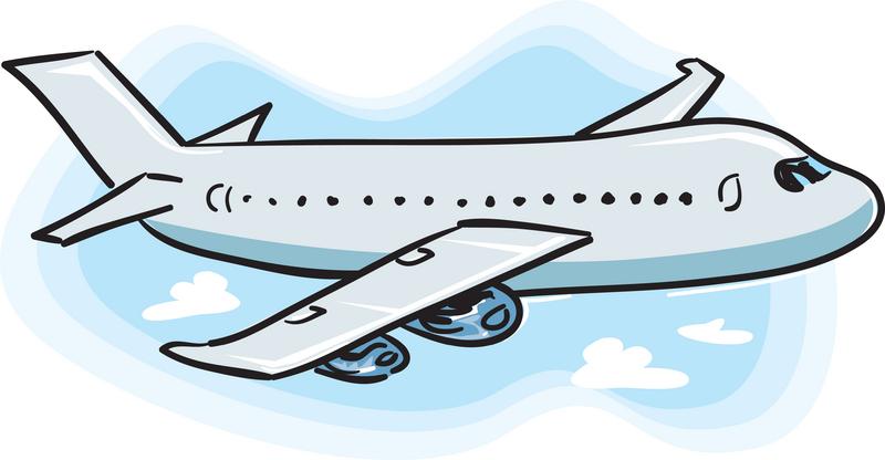 cartoon airplane clipart