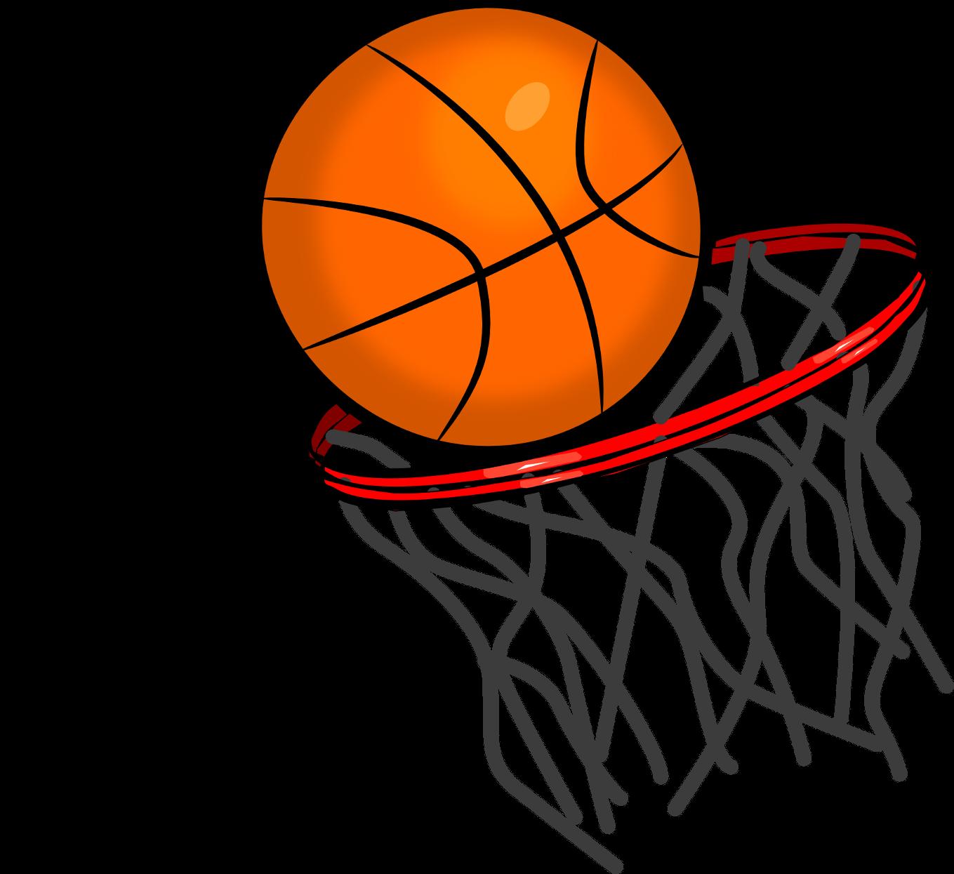 Cartoon Basketball Clipart