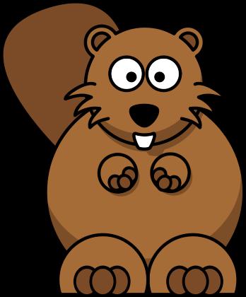 ... Cartoon Beaver Clipart ...