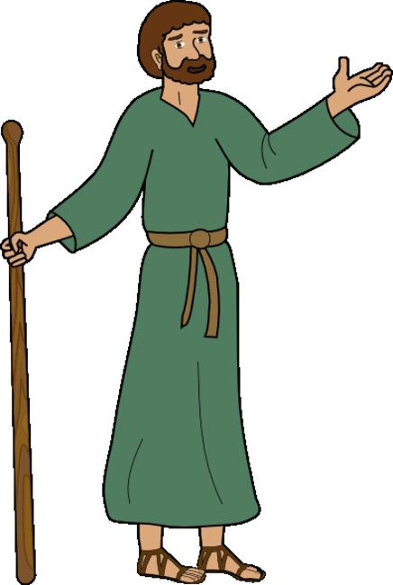 Cartoon Bible Characters - Clipart library