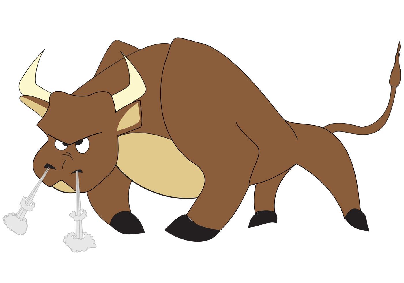 ... cartoon bull ...