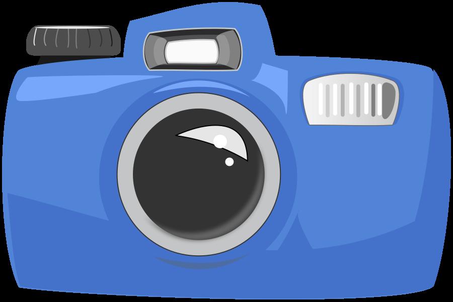 Cartoon Camera Clipart
