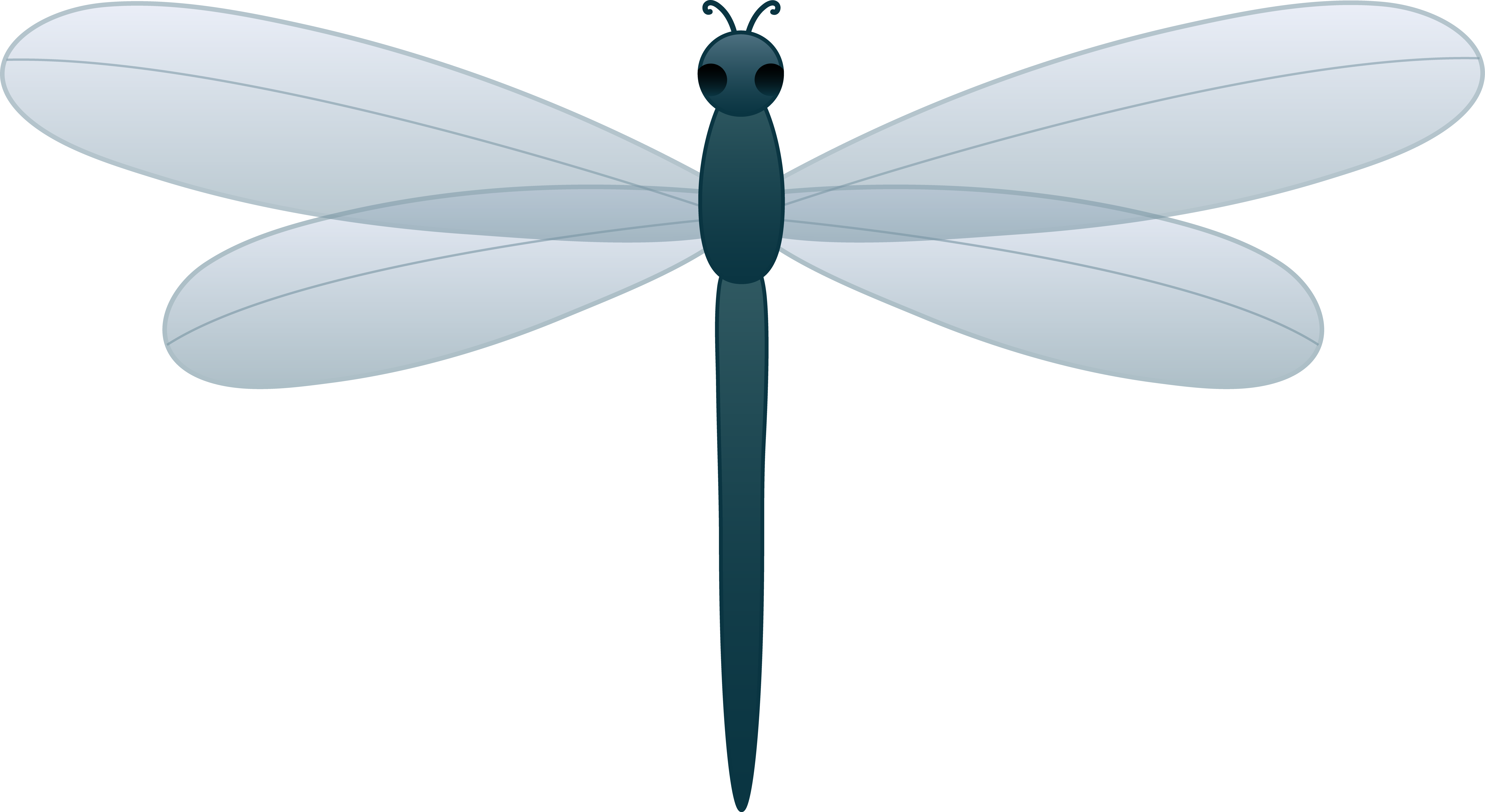 Cartoon Dragonfly Clip Art