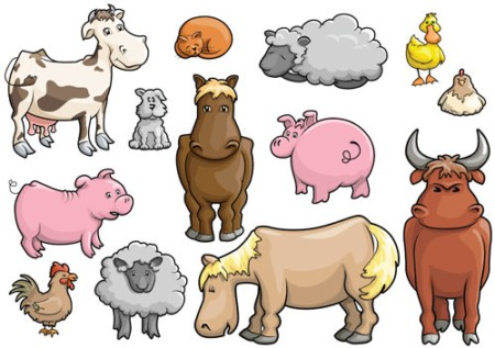 Cartoon Farm Free Clipart
