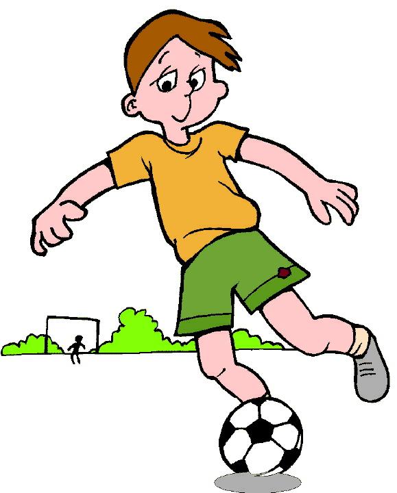 Cartoon football player clipart clipart