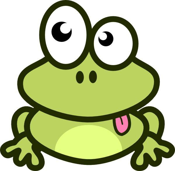 Cartoon Frog Clip Art | Frog Cartoon clip art - vector clip art online, royalty