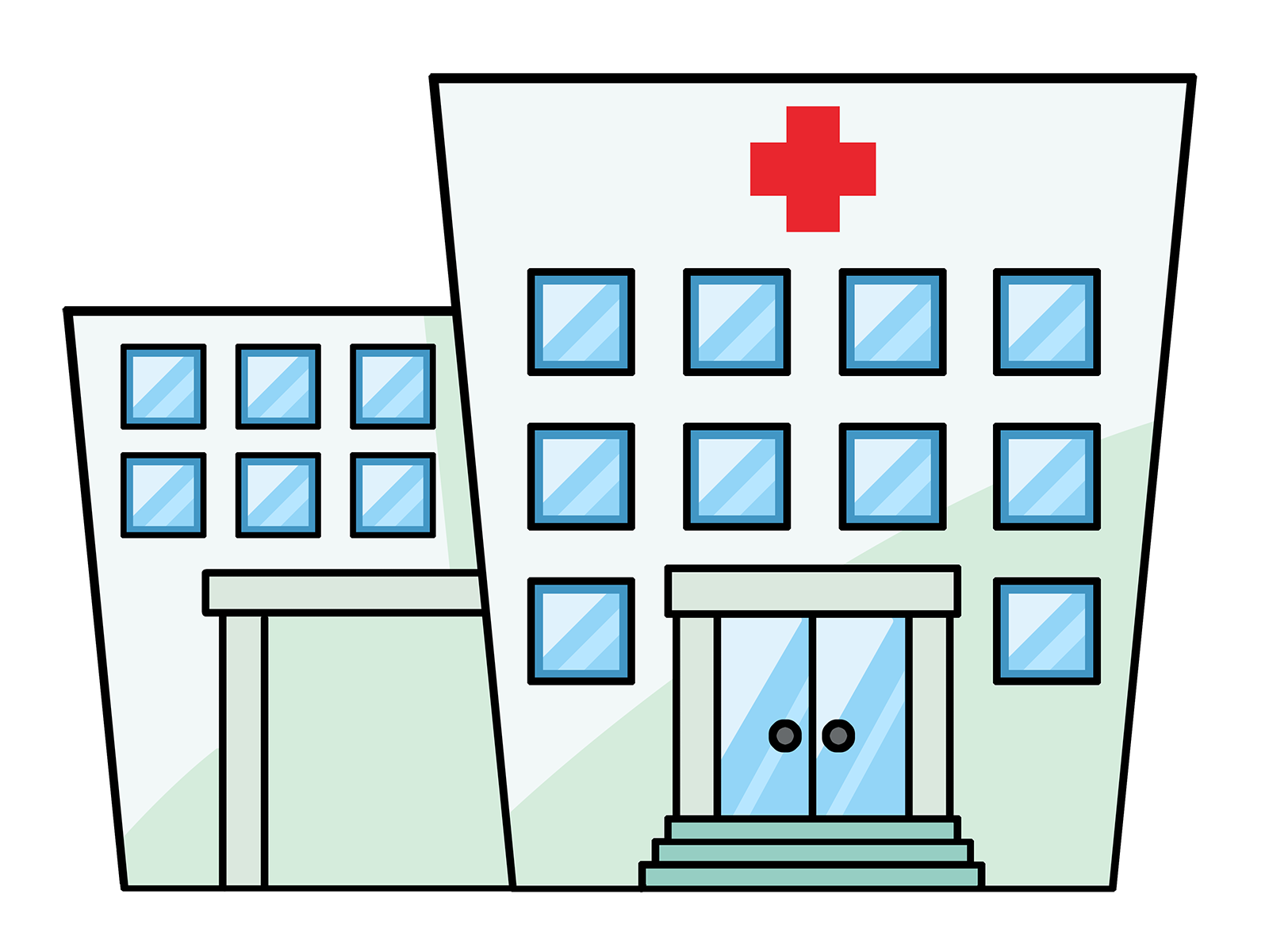 Cartoon Hospital Clipart