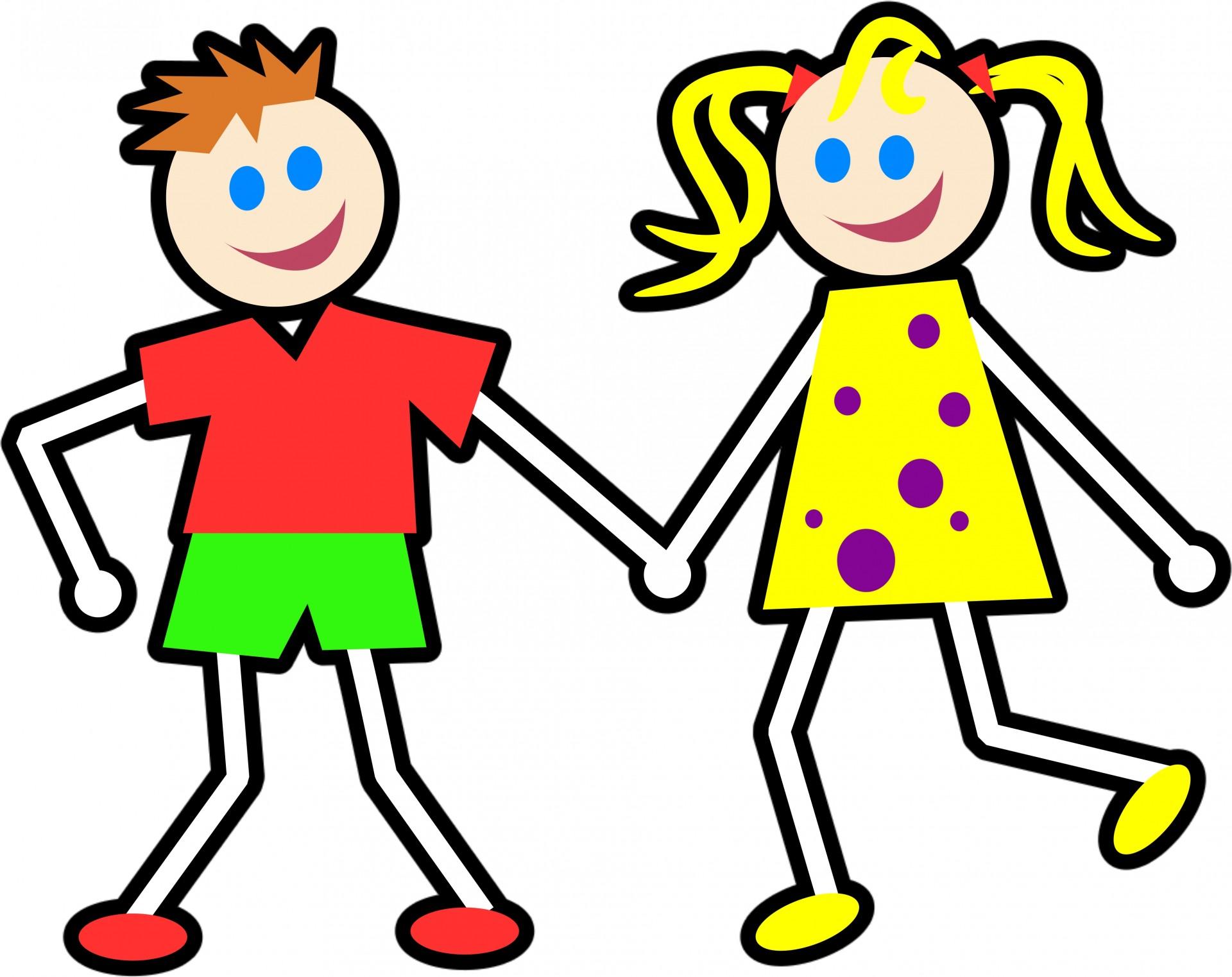 Cartoon Kids Clipart