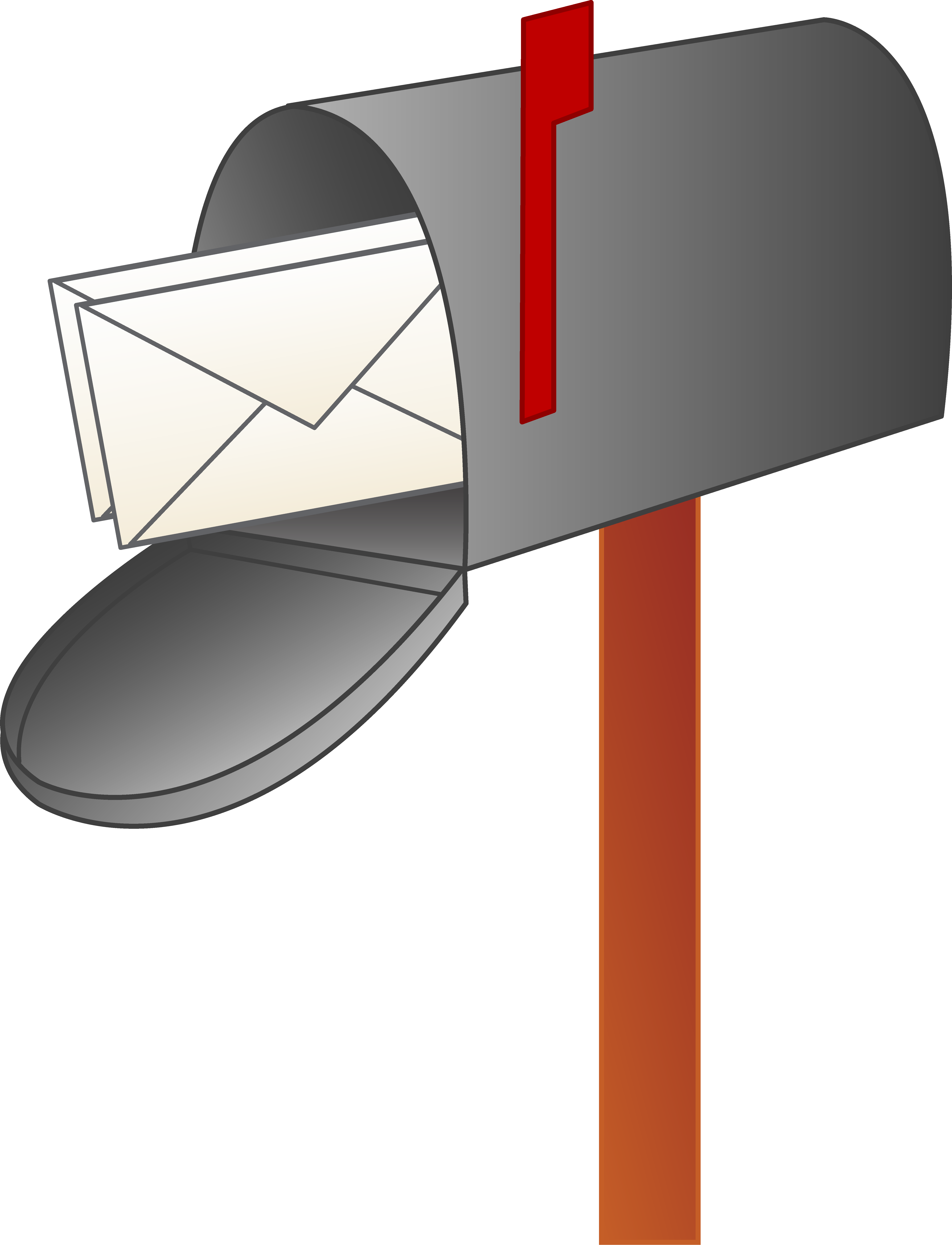 Cartoon Mailbox Clipart