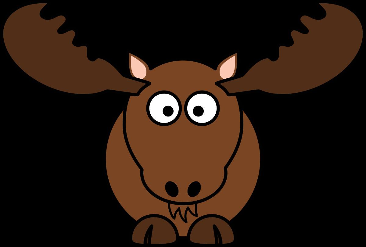Cartoon moose clipart by studiofibonacci cartoon cliparts 9