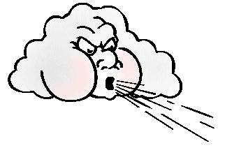 Cartoon Puff Of Air Clipart