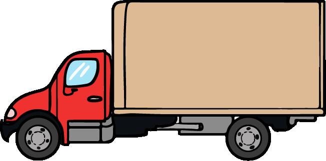 Cartoon Semi Truck Clipart .