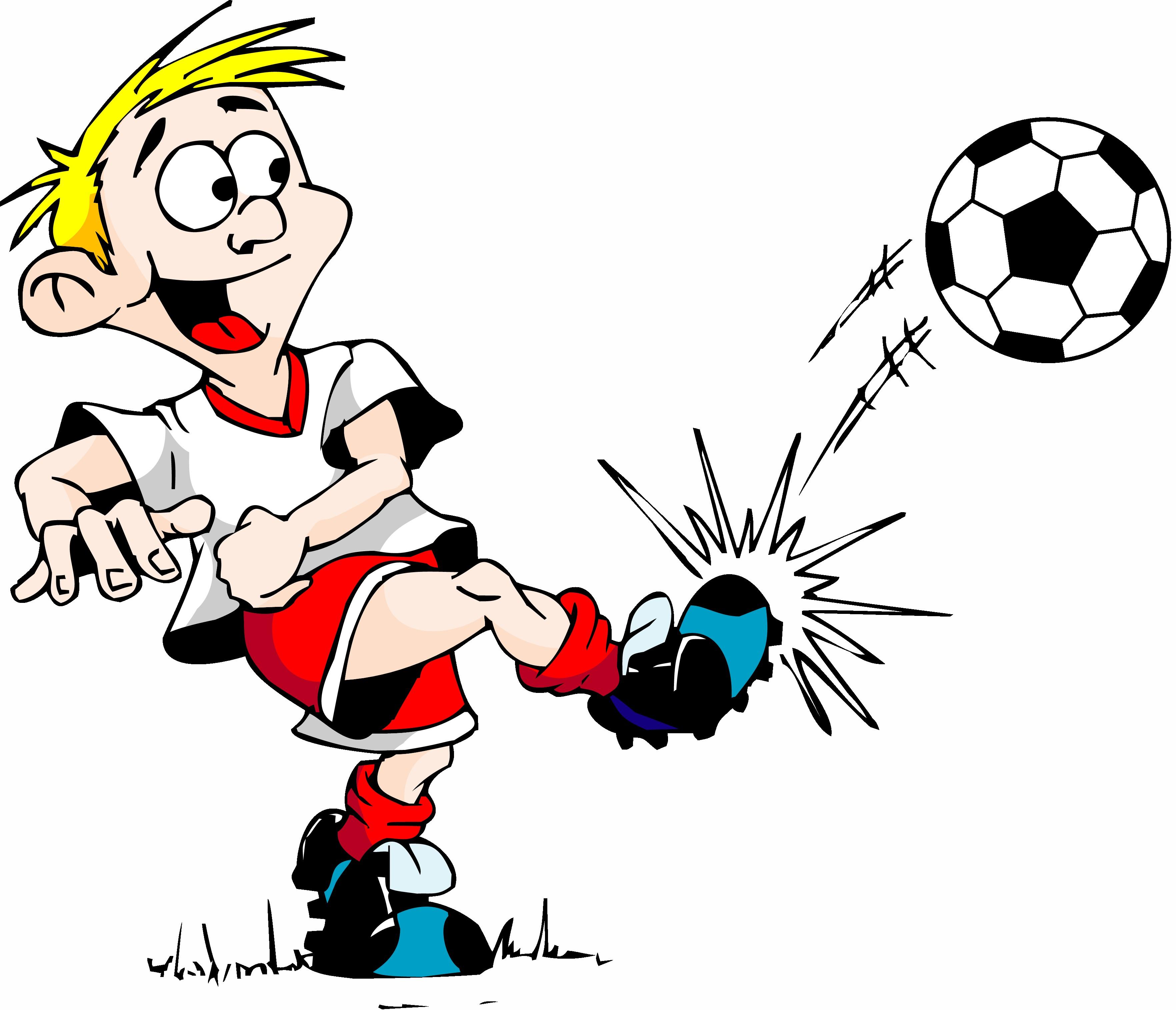 Cartoon Soccer Clipart