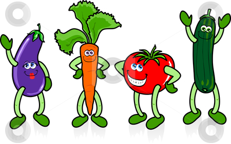 Cartoon Vegetable Clip Art Clipart Free Clipart