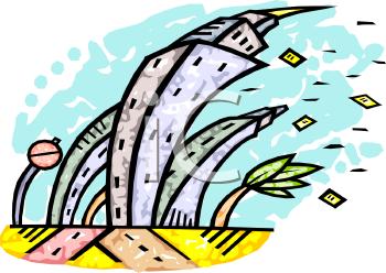 Cartoons Hurricane Clipart