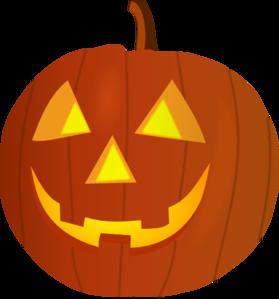 carved pumpkin clipart