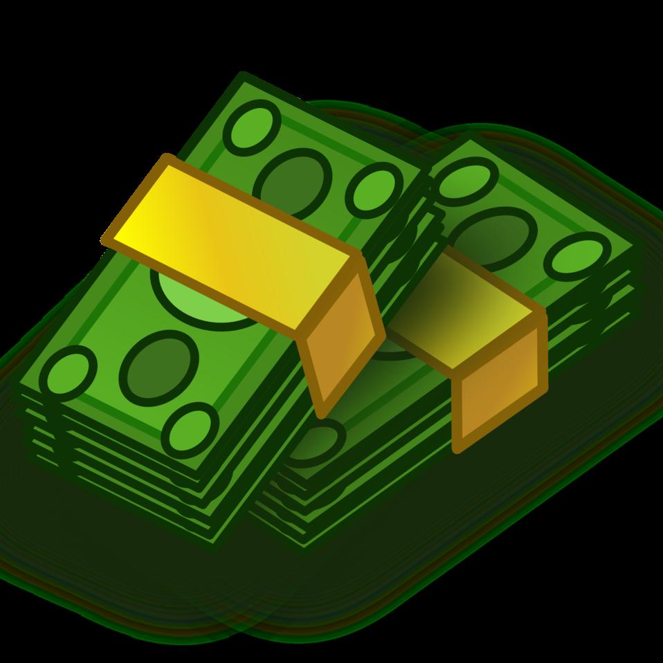 Cash Clip Art. pile of money clipart