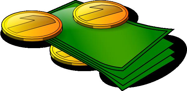 Cash Money Clipart