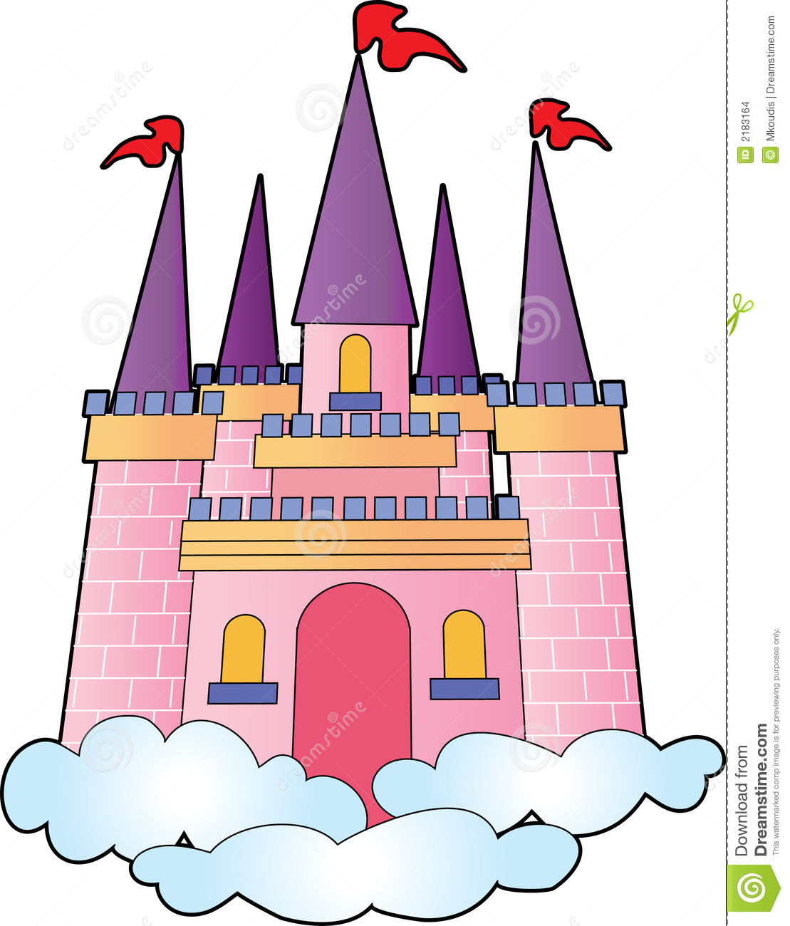 Castle Clip Art u0026middot; dragon clipart