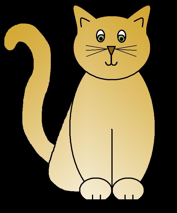 Cat Clip Art Sketches