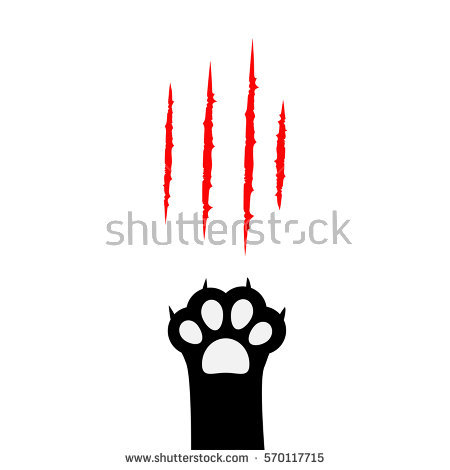 Cat Paw Clipart-hdclipartall. - Cat Paw Clipart
