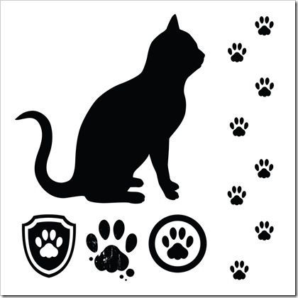 Cat Paw Tattoos - ClipArt Best - ClipArt Best