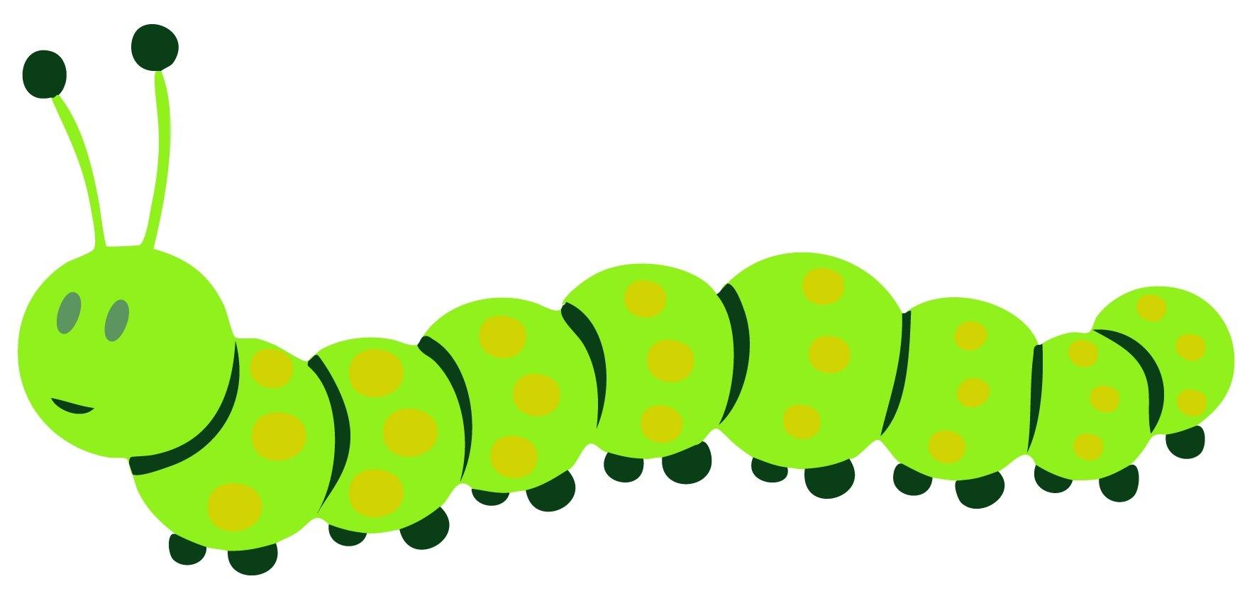 caterpillar clipart - 2 - n - Caterpillar Clipart