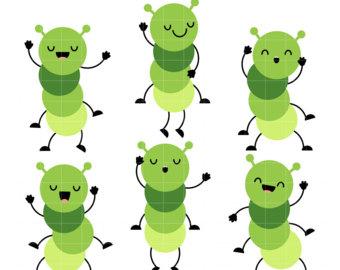 Dancing Caterpillars Clip Art ClipartLook.com