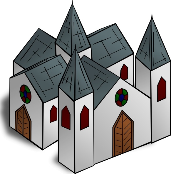 Cathedral clip art