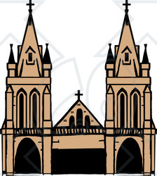 Cathedral Clipart #1