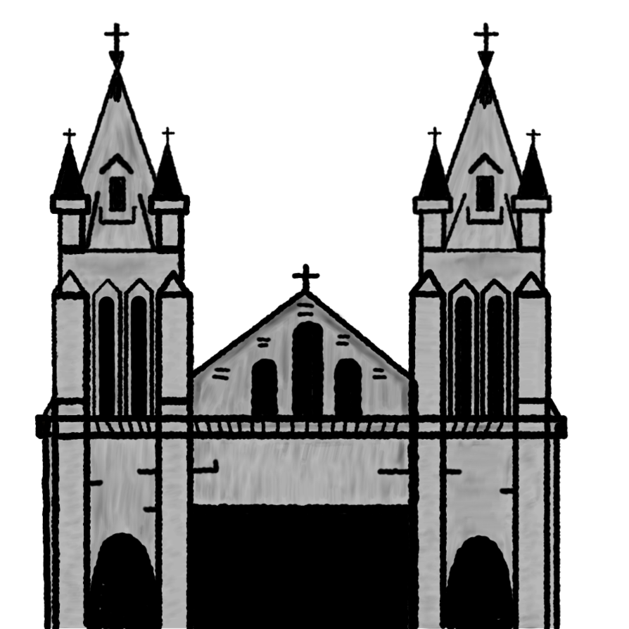 Cathedral clipart by Matiseli ClipartLook.com