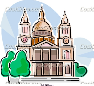 Cathedral clipart: St Paulu0027s Cathedral