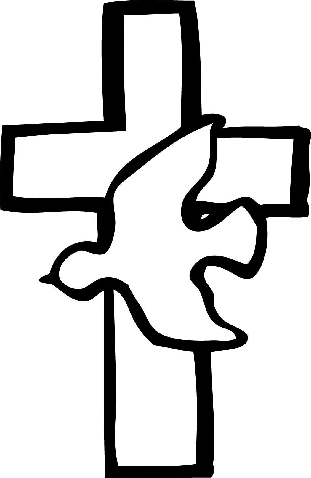 Easter cross clipart free dov