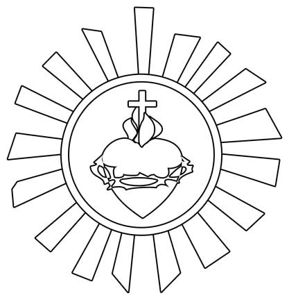 Catholic clip art black and white free clipart 2