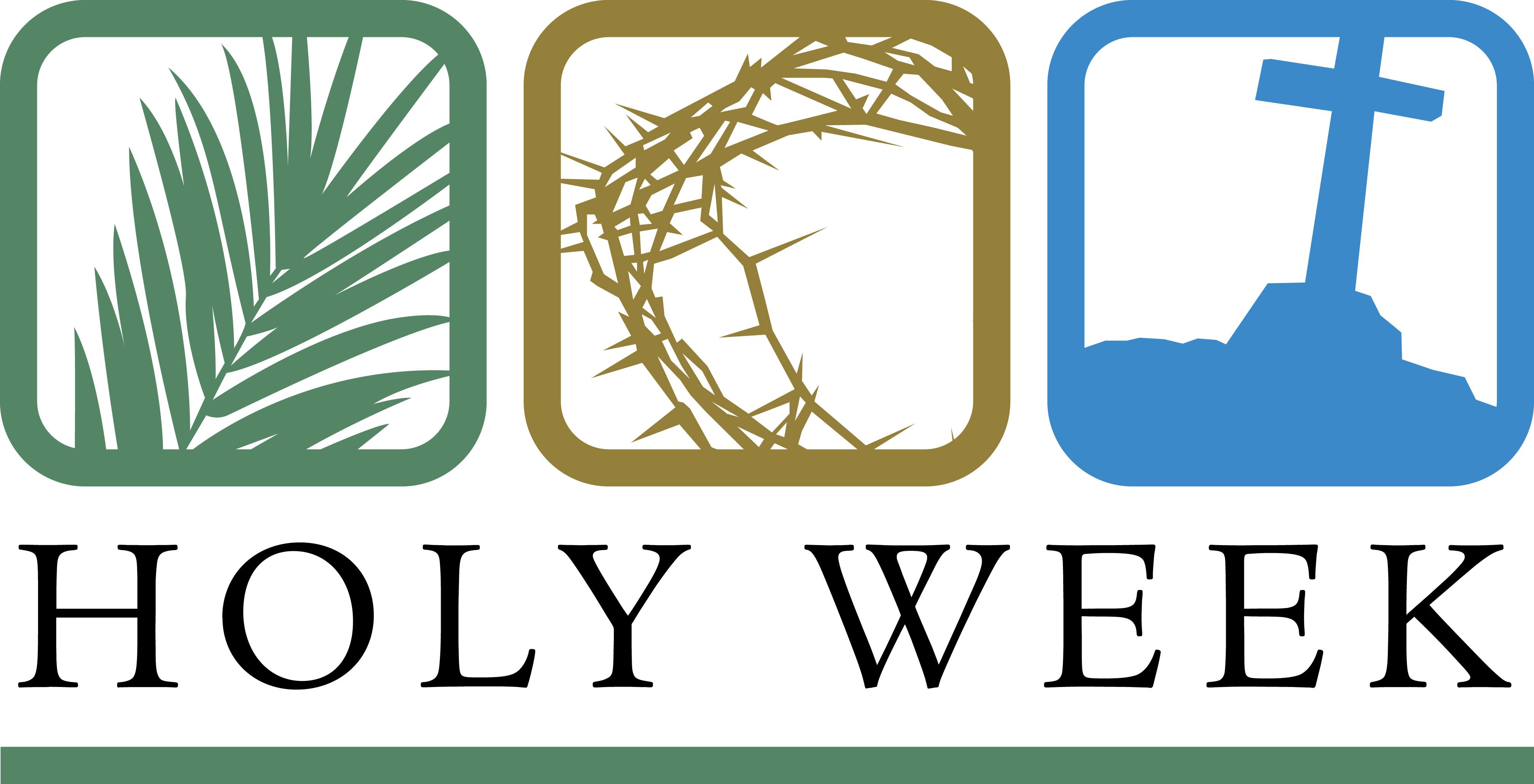 Catholic holy week clipart