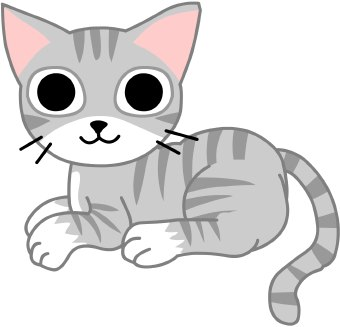 Cats Domestic Clip Art and Images