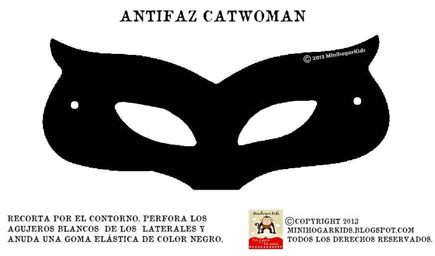 antifaz catwoman