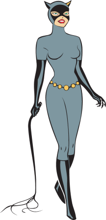 Catwoman Clipart #1