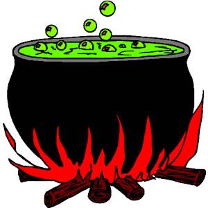 Boiling Cauldron Clipart #1