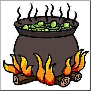Clip Art: Cauldron Color I abcteach hdclipartall.com - preview 1