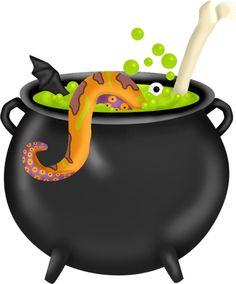 Halloween clipart cauldron #3