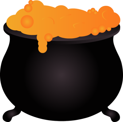 Witch cauldron clipart free images 2
