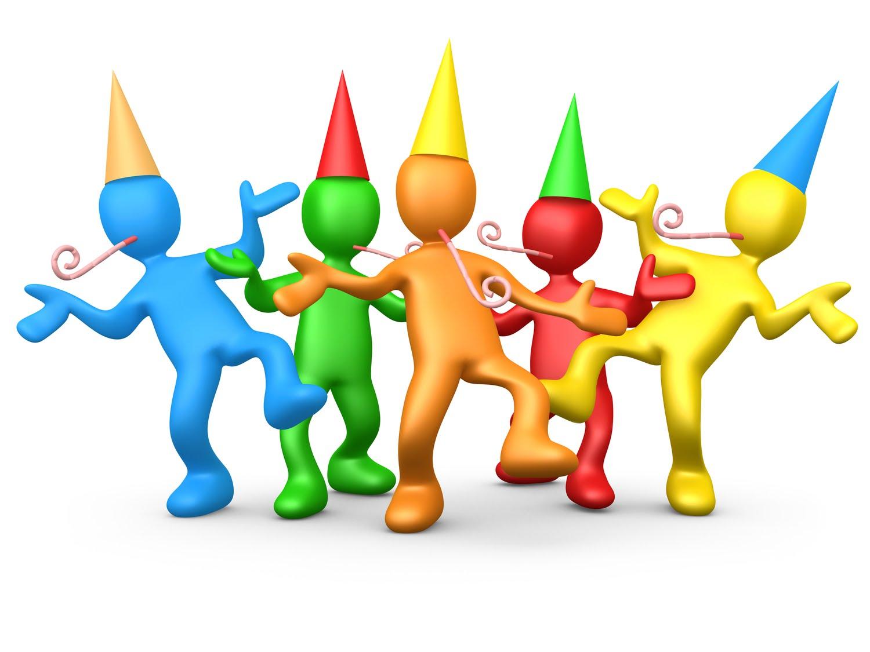 Celebration party time clip art free clipart images