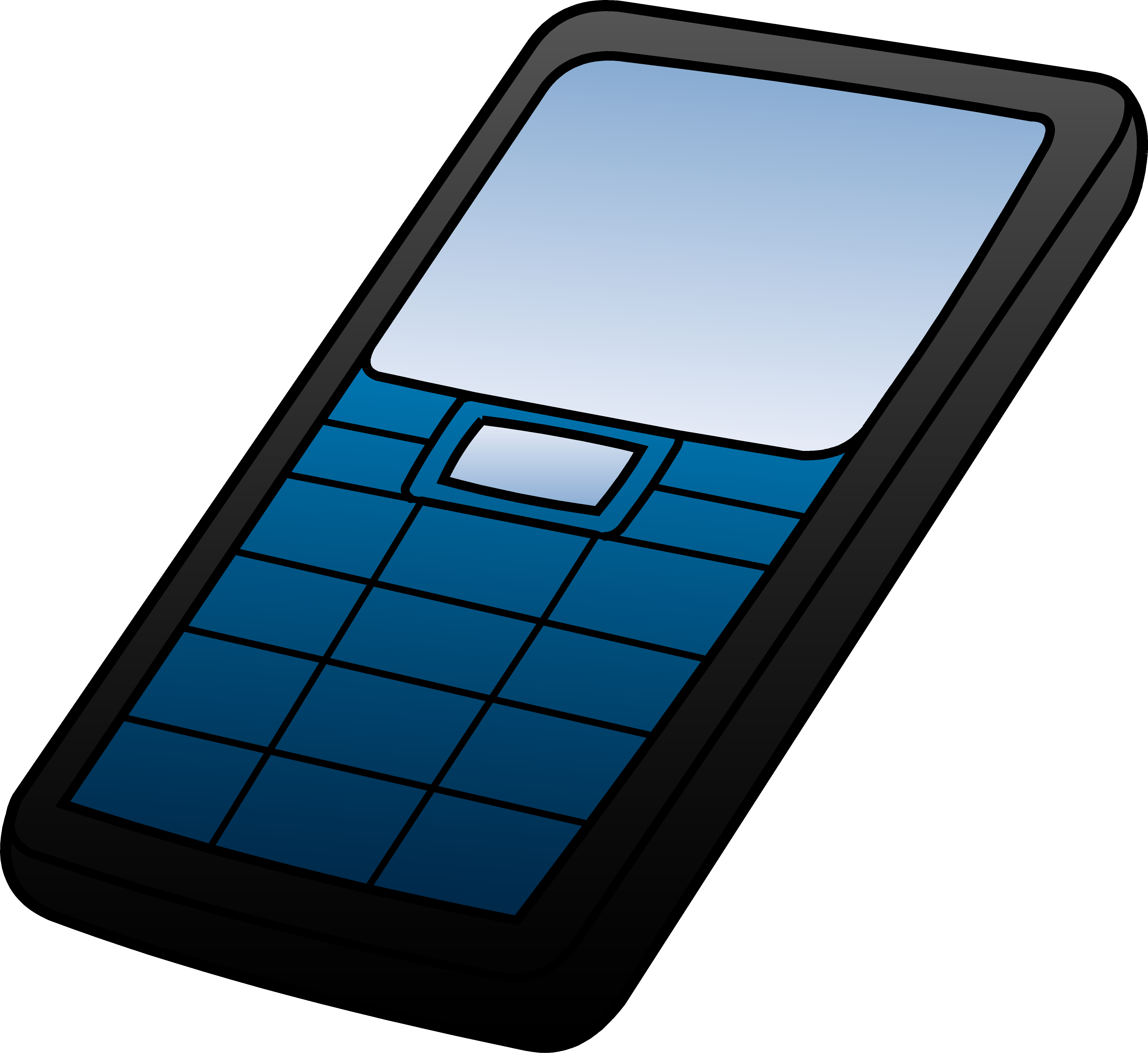 cell phone ringing clipart