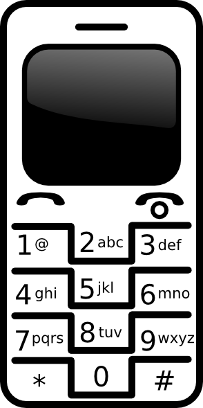 Cell Phone Clipart Clip Art Clip Art Free Clip Art Borders Clip