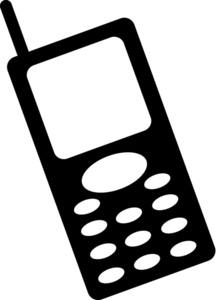 Cell Phone Clipart Clipart .