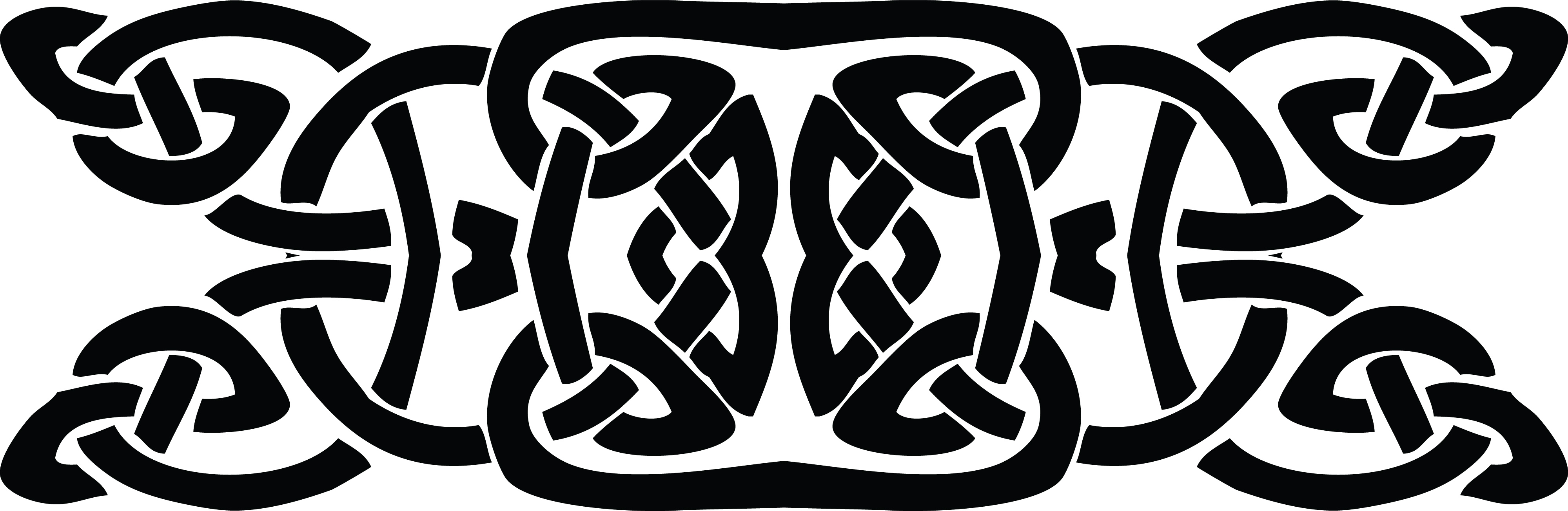 Celtic Knot clipart black and white #5